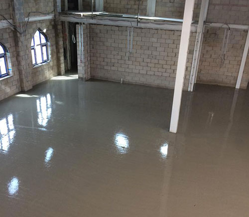 Flow-Screed